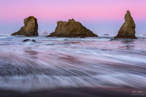 Dawn at Bandon Beach