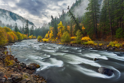 Klickitat River Fall Color