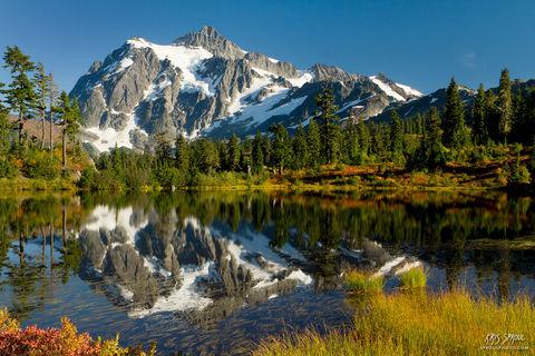 Mount Shuksan Fall Reflection