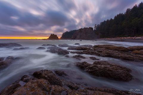 Rialto Beach Twilight