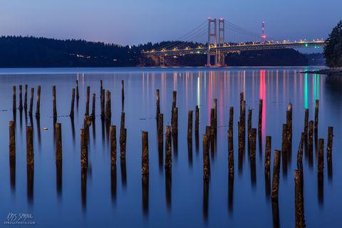 Tacoma Narrows Twilight
